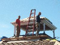 Gazebo Roof Repair 2011